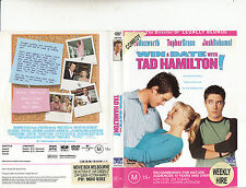 Win A Date With Tad Hamilton-2004-Kate Bosworth-Movie-DVD