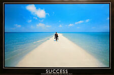 (LAMINATED) SUCCESS - MOTIVATIONAL POSTER (61x91cm)  NEW LICENSED ART