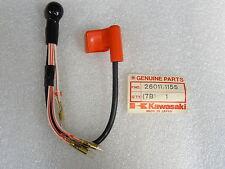 Kawasaki NOS NEW  26011-1155 Battery Lead Wire (T) KZ KZ550 LTD 1980-83