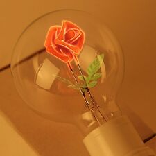 E27 3W Incandescent Bulbs Rose Shaped Decorative Edison Light Bulb 220V