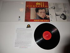 Elvis Costello Punch the Clock 1st 1A 1983 Herbie Press, ULTRASONIC CLEAN, VG++