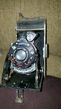 Antique VOIGTLANDER pleated  Camera BESSA Model Voigtar 1:63  parts /repair