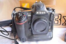 Nikon d3x profesional DSLR cámara, 124344 desencadenadores