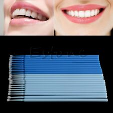 100PCS Disposable Dental Micro Brush Tooth Materials Micro Applicators Large New