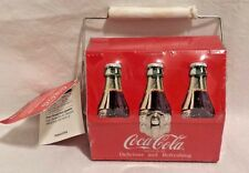 """Vintage Coca Cola Mini Lunch Box Tin Sealed with Cherry Candy 4 3/4"""" x 4"""" NEW"""