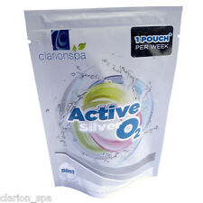 ACTIVE SILVER OXYGEN SEASON KIT wkly 5in1*NO CHLORINE WATERCARE*hot tub chemical