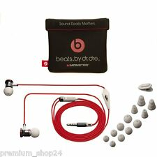 MONSTER Beats by Dr. Dre iBeats MUSICA CUFFIE SPORT PER IPHONE 4s 4 S 5c 5 Bianco
