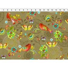 Clothworks Bohemian Chic by Sue Zipkin Y1553 63 Cotton Fabric