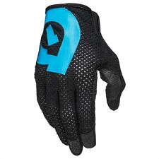661 SixSixOne Raji XC Trail AM Full Finger Glove Small S Black/Cyan - Brand New