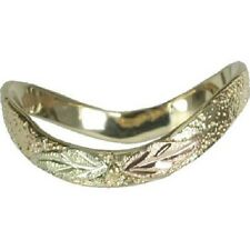 Absolutely Gorgeous Black Hills Gold 10k Thumb Ring