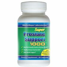 PROSTATE SUPPORT HEALTH Saw Palmetto Pygeum Bark Beta Sitosterol 60 Caps