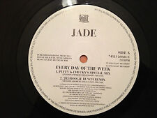 "JADE - Every Day Of The Week / 5 4 3 2 (Yo' Time Is Up) - 1994 UK 12"" RnB - EXC"