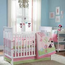 6-Pc Disney Baby Minnie Mouse Butterfly Charm Crib Bedding Blanket & Bumper Set