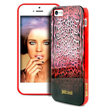 cover case iphone 5 5s JUST CAVALLI by PURO rosso macu con scatola sigillata