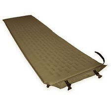 Self Inflating Military Camping Single Camp Bed Sleeping Bag Mattress Mat Coyote