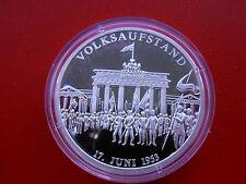 *Silbermedaille ca.19,6g. (999)* Volksaufstand 17. Juni 1953