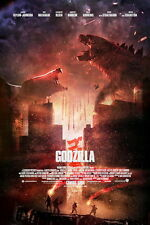 "039 Godzilla - 2014 Monster Fighting Hot Movie 24""x36"" Poster"