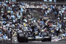 9x6 Photograph Jacky Ickx , F1 Lotus 72E  French GP  Dijon 1974