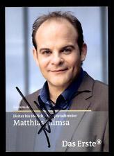 Matthias Klimsa Heiter bis tödlich Autogrammkarte Original Signiert ## BC 39809