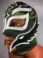 REY MISTERIO CAMOUFLAGE DESIGN! WRESTLING-LUCHADOR! MASK! BOOYAKA 619! AWESOME!!