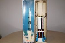 """Vintage Battery Operated Japan Space ship """"TN TOYS"""" """"APOLLO X MOON CHALLENGER"""""""