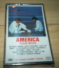 America Your Move Cassette SEALED