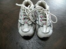 Youth Girl's size 9 Pro Spirit Athletic Shoes  White/Pink