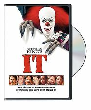 Stephen King's It DVD Movie The Master of Horror Tim Curry Harry Anderson Film