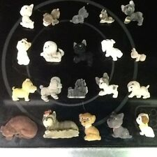 HUGE LOT 20 Vintage MEG Puppy In My Pocket playset FLOCKED dogs cat kitten lot#4