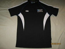 Rugby World Cup 2011 Shirt Short Sleeve Adult Small New Zealand