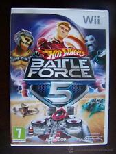 HOT WHEELS BATTLE FORCE 5 -NINTENDO WII - PAL ESPAÑA
