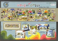 """Korean Folk Tales"" Cross stitch pattern book. Big Chart. SODA SO-K7"