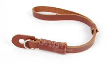 Genuine Leather Camera Hand Wrist Strap For Canon Nikon Olympus Panasonic Pentax