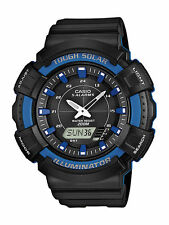 Casio Men's AD-S800WH-2A2VCF Solar Watch with Black Resin Band