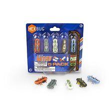 Hexbug Nano Nitro Micro Robotic Creatures 5 Pack Bonus Glow in the Dark Pack
