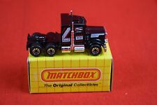 Matchbox MB43 Peterbilt Conventional - Black - 1983