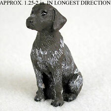 German Shorthaired Pointer Mini Resin Dog Figurine Statue Hand Painted Statue