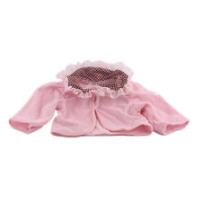 Cute Christmas gift pink top Clothes for 18inch American girl doll party N138