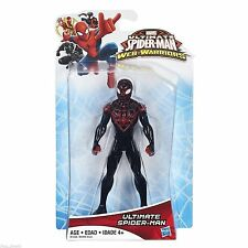 "MILES MORALES ( 5"") VHTF ULTIMATE SPIDER-MAN WEB WARRIORS MARVEL ACTION FIGURE"