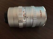 Ampex Television Lens 75 mm 1:1.9 LE 615 Excellent Condition Rare