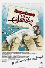 "UP IN SMOKE Movie Silk Fabric Poster Cheech and Chong 11""x17"""