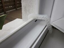 2 Window clamp transparent Doorstop Window Stopper Door Wedge Door Stay