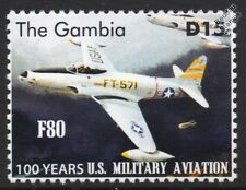 Lockheed P-80 / F-80 Shooting Star US Militiary Aviation Fighter Aircraft Stamp