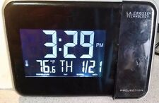 *AWESOME* LACROSSE TECHNOLOGY W85923 Projector Style Clock/Alarm, Temp & Date