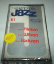 Giants of Jazz 51 - Hinton, Wilson, Jackson - Cassette -SEALED