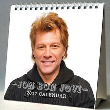 Jon Bon Jovi Desktop Calendar 2017 NEW Blaze of Glory It's My Life Always