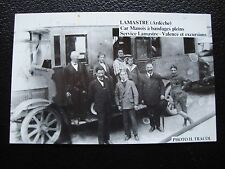 FRANCE - carte postale (reproduction) lamastre (ardeche)car manois (cy92) french