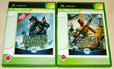 2 XBOX SPIELE SET - MEDAL OF HONOR - RISING SUN & FRONTLINE