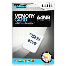 64MB Memory Card for Nintendo Gamecube / Wii NEW USA