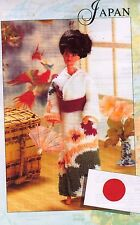 "BARBIE/SINDY~FASHION DOLL~JAPAN KIMONO  SIZE 11-12""~KNITTING PATTERN~        (C)"